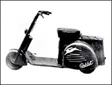 незамысловатый скутер Rabbit (1947 г.) был первым неавиационным изделием фирмы