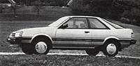 Subaru 1800 Coupe 4WD 1985 г.