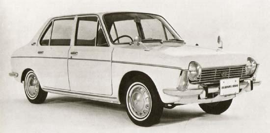 Subaru 1000 1966 г.