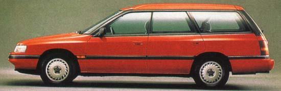 Subaru Legacy 1989 г.
