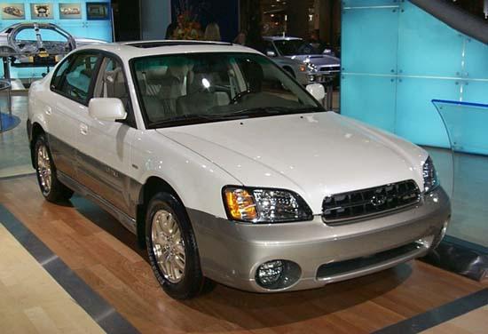 Subaru Legacy Outback 2001 г.