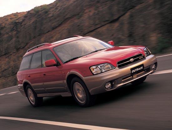 Subaru Legacy Outback 2002 г.