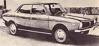 Subaru Leone Sedan 1972 г.