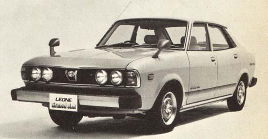 Subaru Leone Grand Am 1978 г.