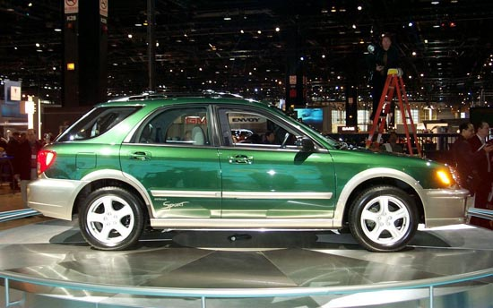 Subaru Outback Sport 2002 г.