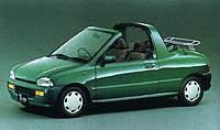 Subaru Vivio 1993 г.