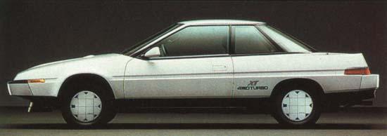 Subaru XT 1800 Turbo 1987 г.